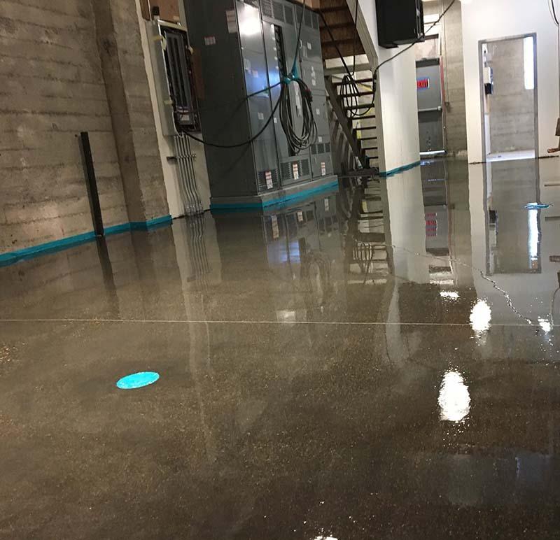 Basement Maintenance Room