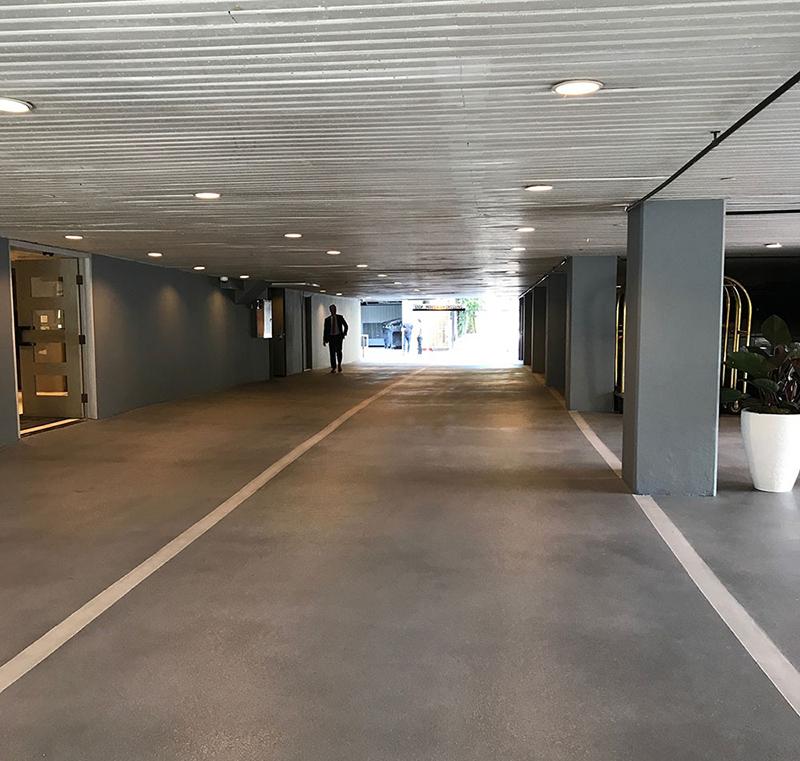 GSPEC Urethane Cement Hotel Underground Driveway